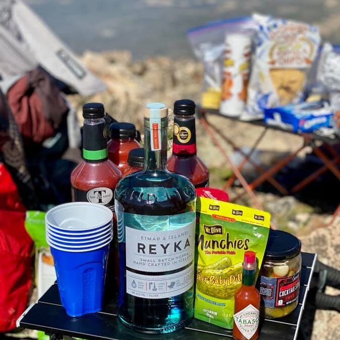 Bloody Marys on Bald Mountain