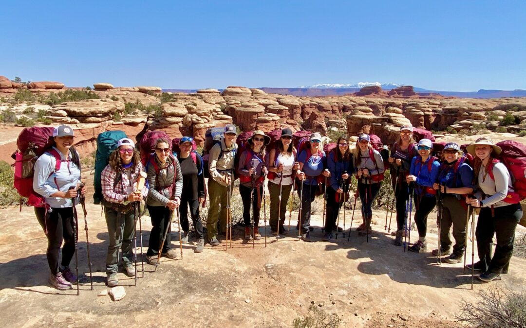 Want to Backpack? Finding Support on This Women's Backpacking Trip